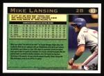 1997 Topps #83  Mike Lansing  Back Thumbnail