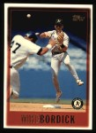 1997 Topps #86  Mike Bordick  Front Thumbnail