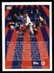 1997 Topps #102  John Mabry  Back Thumbnail