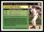 1997 Topps #154  Steve Trachsel  Back Thumbnail