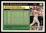 1997 Topps #161  Jim Eisenreich  Back Thumbnail