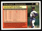 1997 Topps #175  Dwight Gooden  Back Thumbnail