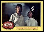 1977 Topps Star Wars #165   Escaping from stormtroopers Front Thumbnail
