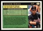 1997 Topps #220  Jacob Cruz  Back Thumbnail