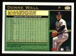 1997 Topps #223  Donne Wall  Back Thumbnail