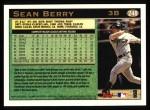 1997 Topps #248  Sean Berry  Back Thumbnail