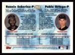 1997 Topps #253  Ronni Seberino  Back Thumbnail
