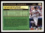 1997 Topps #276  Chipper Jones  Back Thumbnail