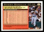 1997 Topps #374  Bobby Bonilla  Back Thumbnail
