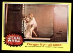 1977 Topps Star Wars #136   Danger from all sides Front Thumbnail