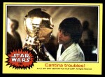 1977 Topps Star Wars #135   Cantina troubles Front Thumbnail