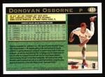 1997 Topps #451  Donovan Osborne  Back Thumbnail