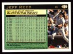 1997 Topps #486  Jeff Reed  Back Thumbnail