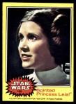 1977 Topps Star Wars #152   Spirited Princess Leia Front Thumbnail