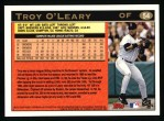 1997 Topps #54  Troy O'Leary  Back Thumbnail
