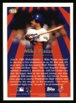 1997 Topps #104  Mike Piazza  Back Thumbnail