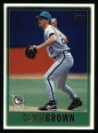 1997 Topps #115  Kevin Brown  Front Thumbnail
