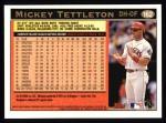 1997 Topps #162  Mickey Tettleton  Back Thumbnail