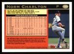 1997 Topps #199  Norm Charlton  Back Thumbnail