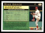 1997 Topps #242  Mike Grace  Back Thumbnail