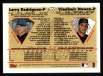 1997 Topps #250  Vladimir Nunez  Back Thumbnail