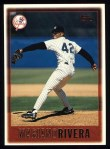 1997 Topps #256  Mariano Rivera  Front Thumbnail