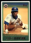 1997 Topps #261  Lance Johnson  Front Thumbnail