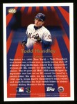 1997 Topps #466   -  Todd Hundley Season Highlights Back Thumbnail