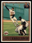 1997 Topps #65  Chuck Knoblauch  Front Thumbnail