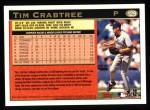 1997 Topps #129  Tim Crabtree  Back Thumbnail