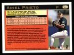 1997 Topps #279  Ariel Prieto  Back Thumbnail