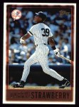 1997 Topps #282  Darryl Strawberry  Front Thumbnail