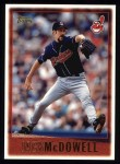1997 Topps #307  Jack McDowell  Front Thumbnail