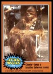 1977 Topps Star Wars #324   Chewbacca takes a breather Front Thumbnail