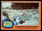 1977 Topps Star Wars #327   Filming the sandcrawler Front Thumbnail