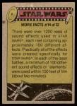 1977 Topps Star Wars #277   Bizarre inhabitants of the cantina! Back Thumbnail
