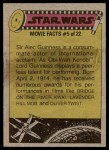 1977 Topps Star Wars #292   The Stormtroopers assemble Back Thumbnail