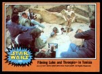 1977 Topps Star Wars #330   Filming Luke and Threepio Front Thumbnail