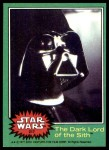 1977 Topps Star Wars #217   The Dark Lord of Sith Front Thumbnail