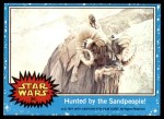 1977 Topps Star Wars #20   Hunted by the Sandpeople! Front Thumbnail