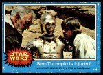 1977 Topps Star Wars #23   C-3PO is injured Front Thumbnail