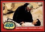 1977 Topps Star Wars #72   Ben Kenobi rescues Luke Front Thumbnail
