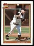 1991 Topps #17  Jeff Brantley  Front Thumbnail