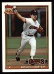 1991 Topps #52  Francisco Oliveras  Front Thumbnail