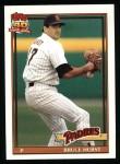 1991 Topps #65  Bruce Hurst  Front Thumbnail
