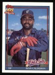 1991 Topps #93  Ivan Calderon  Front Thumbnail
