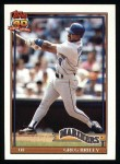 1991 Topps #133  Greg Briley  Front Thumbnail