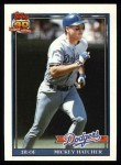 1991 Topps #152  Mickey Hatcher  Front Thumbnail
