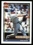 1991 Topps #192  Rob Deer  Front Thumbnail