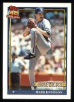 1991 Topps #267  Mark Knudson  Front Thumbnail